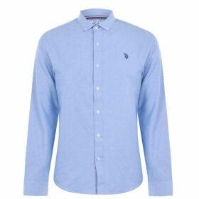 US Polo Assn Oxford Shirt - Sky Blue
