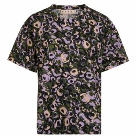 Marni Poplin Floral T Shirt
