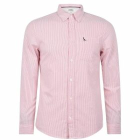 Jack Wills Wadsworth Stripe Oxford Shirt - Pink