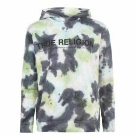 True Religion Tie Dye Hoodie - Castle Rck 2010