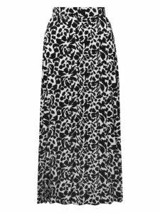 Women's Ladies floral pleated midi skirt