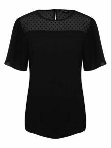 Women's Ladies dobby mesh t-shirt