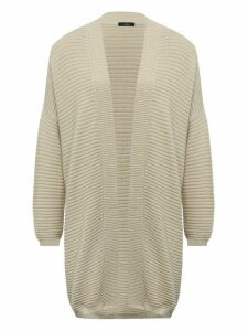Women's Ladies ribbed oversized cardigan