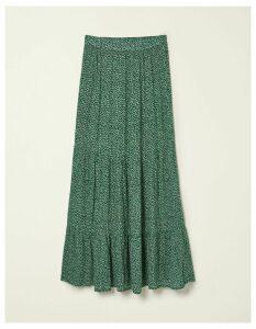 Fat Face Beverley Mini Ditsy Maxi Skirt