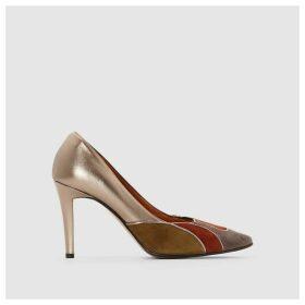 Dona Leather Heels