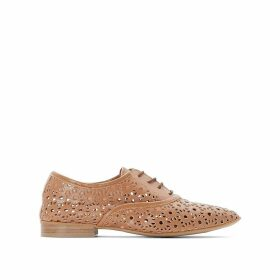 Leather Openwork Brogues