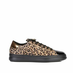 Pontoise Trainers in Leopard Print