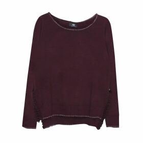 Boat Neck Fine Knit Jumper