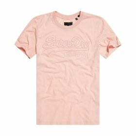 Cotton Logo T-Shirt with Short Sleeves