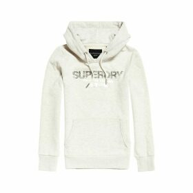 Cotton Mix Hoodie with Kangaroo Pocket and Logo