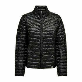 High Neck Zip-Up Padded Jacket