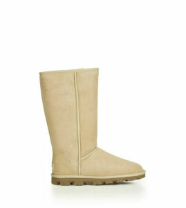 UGG Women's Essential Tall in Sand, Size 8, Shearling