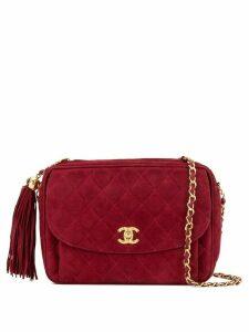 Chanel Pre-Owned tassel detail shoulder bag - Red