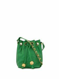 Chanel Pre-Owned 1992 CC drawstring shoulder bag - Green