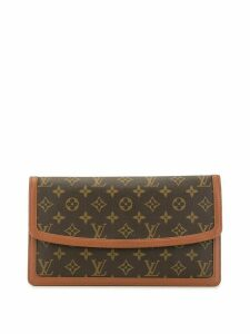 Louis Vuitton 1999 pre-owned Pochette Damme GM clutch - Brown