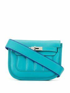 Hermès 2014 Berline shoulder bag - Blue