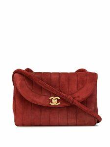 Chanel Pre-Owned 1995s twist-lock shoulder bag - Red