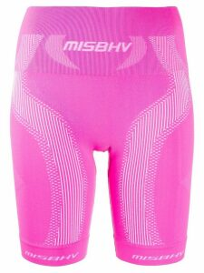 MISBHV logo print shirts - PINK