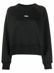 MSGM logo-print sweatshirt - Black