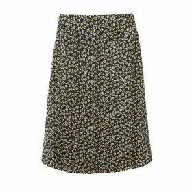Cebry Printed Mid-Length Skirt