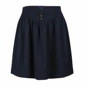 Short Flared Lightweight Skirt