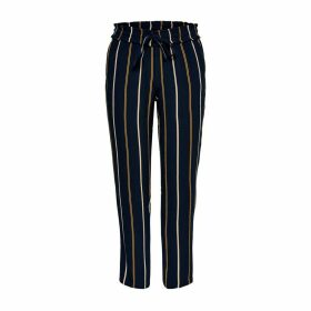 Striped Straight Trousers Link To Tie