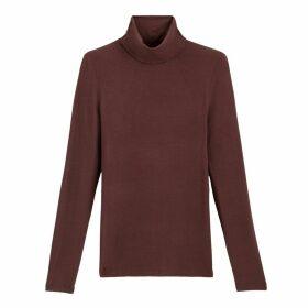 Long-Sleeved Roll-Neck T-Shirt