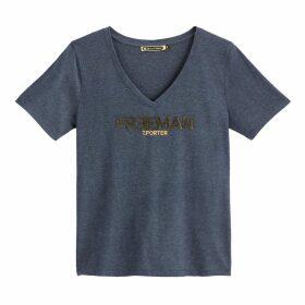 Cotton Mix Logo T-shirt