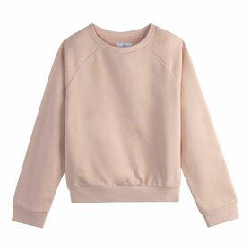 Plain Cotton Short Sweatshirt
