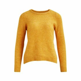 Chunky Knit Jumper with Round Neck