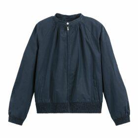 Short Loose Fit Bomber Jacket