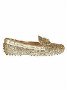 Car Shoe Glittery Loafers