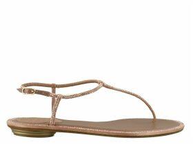René Caovilla Diana Flat Sandals