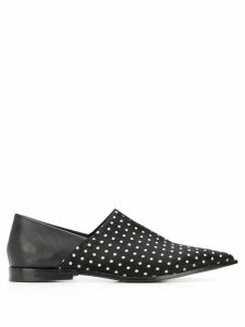 Haider Ackermann polka dot babouche loafers - Black