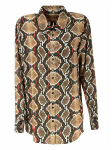 Burberry Carlota Snake Skin Print Shirt