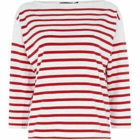 Polo Ralph Lauren Striped three quarter Sleeve Knitted Top