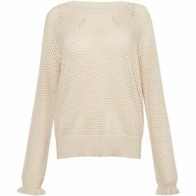 Great Plains Cotton Pointelle Sweater
