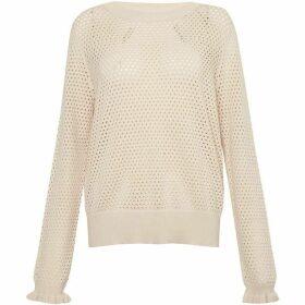Great Plains Cotton Pointelle Sweater
