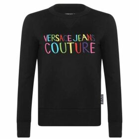 Versace Jeans Couture Rainbow Logo Sweatshirt