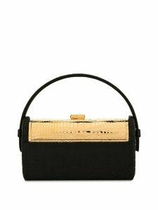 Bienen Davis Régine embossed tote bag - Black