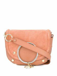See by Chloé Mara charm detail crossbody bag - PINK