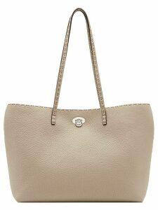Fendi turnlock shopper bag - NEUTRALS