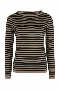 Fabiana Filippi Knitted Silk And Cotton Top