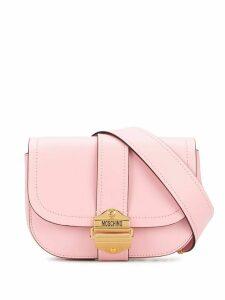Moschino saddle belt bag - PINK