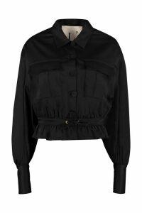 LAutre Chose Single-breasted Cotton Blazer
