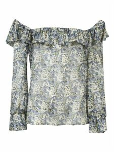 Celine Frills Off-shoulder Blouse