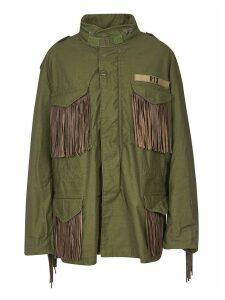 R13 Oversize Tasseled Jacket