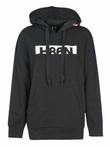 Tods Rear Zipped Logo Hoodie