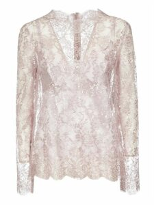 Dolce & Gabbana Floral Lace Top