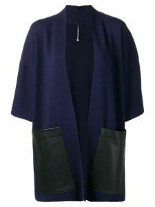 Pierantoniogaspari open front cardigan - Blue